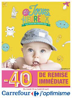 Catalogue Carrefour 18 au 24 Avril 2017