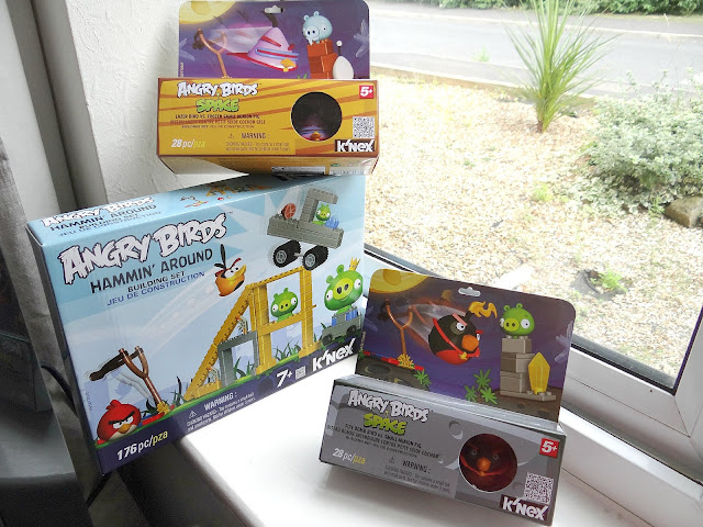 Angry Birds Merchandise, K'Nex construction, K'Nex Angry Birds PlaySet
