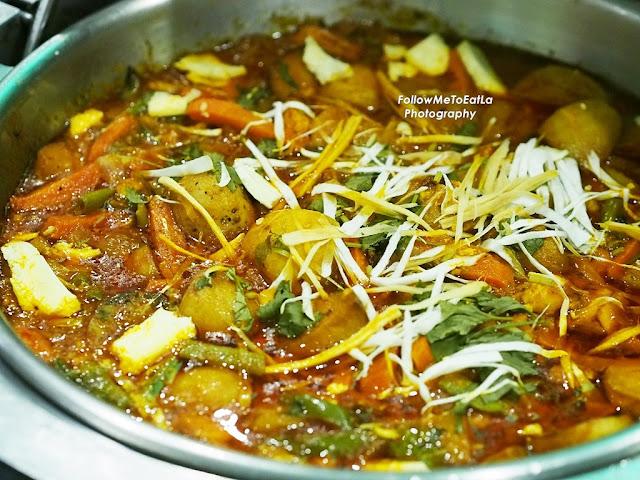 Indian Cuisine Vegetable Jelfrezi