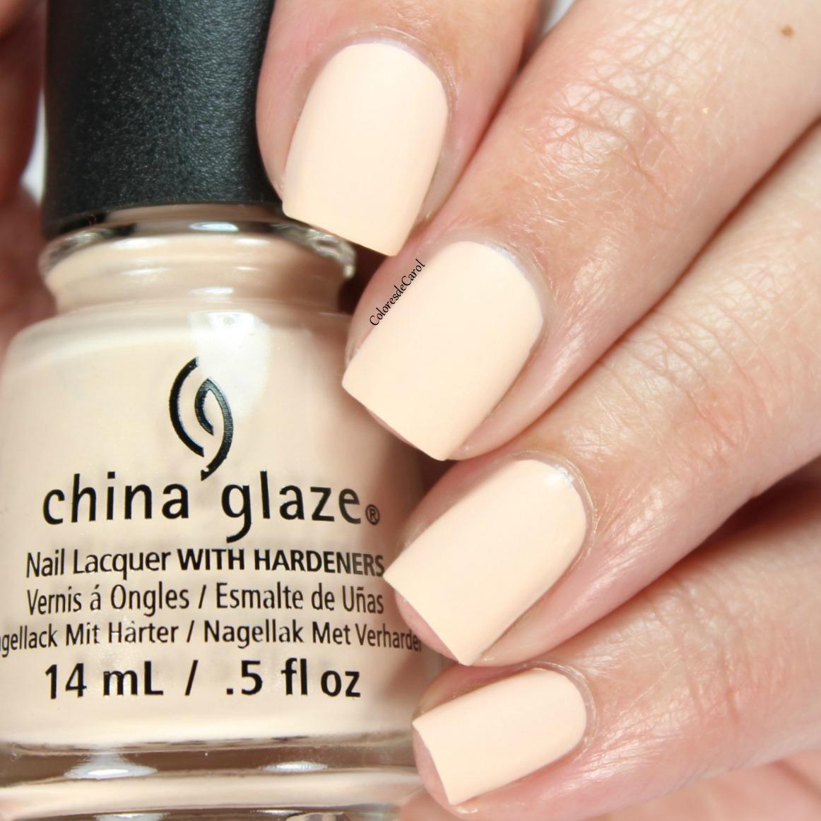 China Glaze Nail Polish Dries Matte- HireAbility