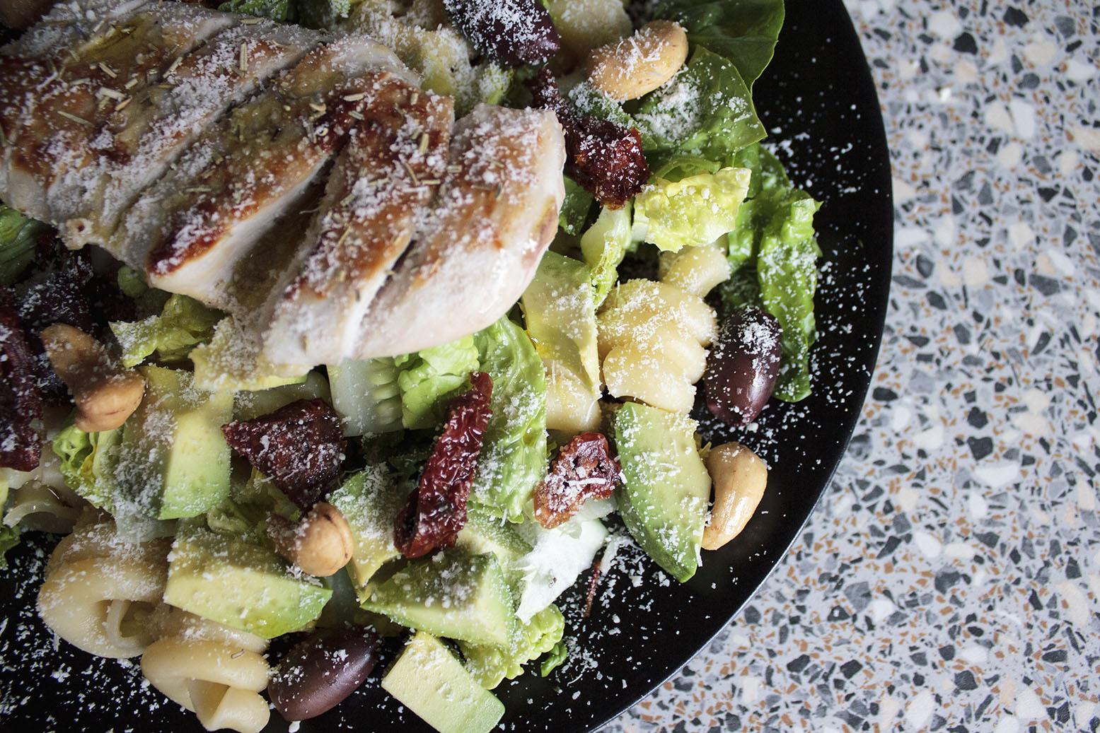 Receita de salada de frango