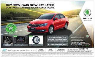 skoda buy now pay later offer