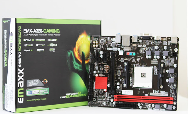 Emaxx A320 motherboard feature