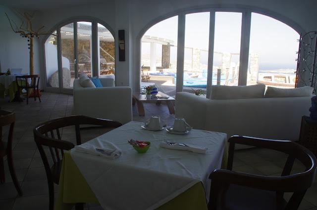 Tharroe of Mykonos Breakfast