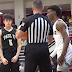 Bronny James hit by debris thrown by fan at Hoophall Classic