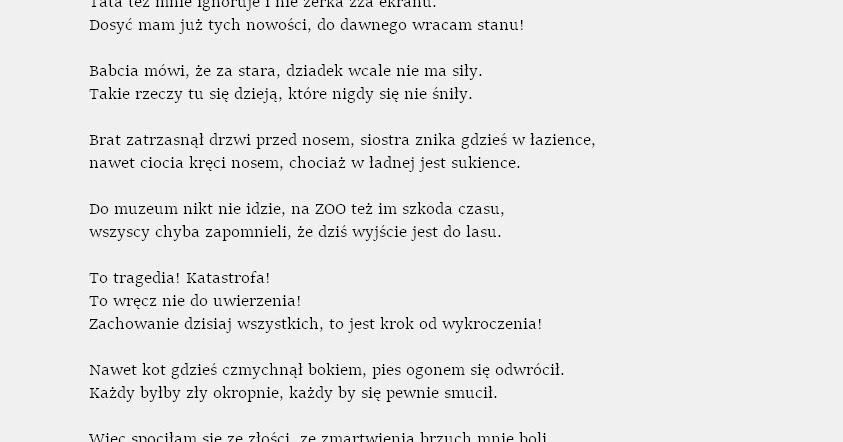 Pisane Węglem Czyli Magdalena Węgiel Dla Dzieci Jeszcze