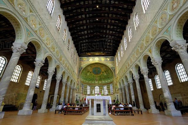 Basílica de Sant'Apollinare in Classe em Ravena