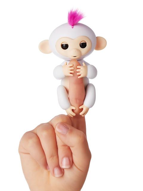 Win A Cute Interactive Fingerlings Baby Monkey Fingerlings