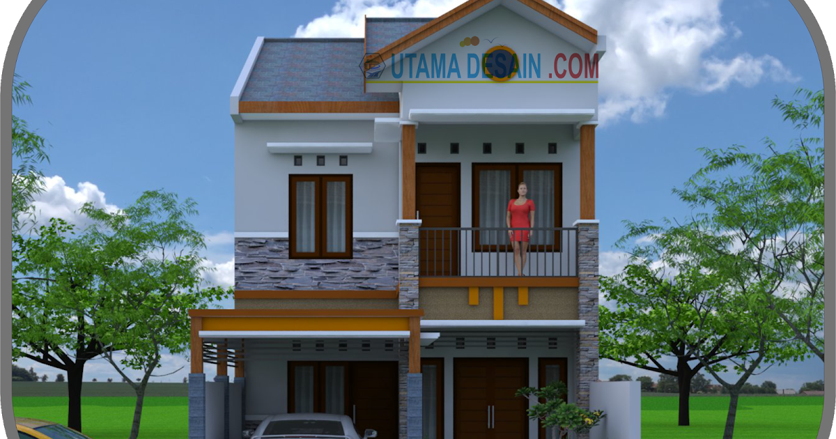 Get Rumah Minimalis 2 Lantai Background - Download Wallpaper