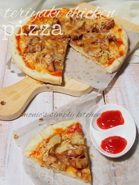 teriyaki chicken pizza recipe