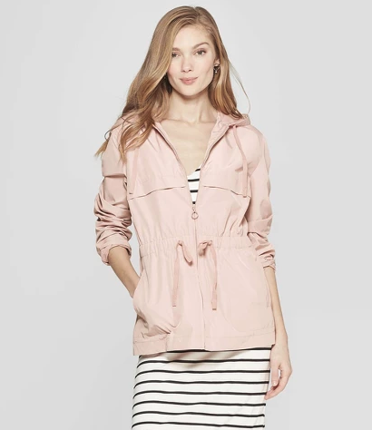 Target Women's Long Sleeve Anorak Jacket