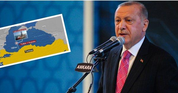 Ερντογάν: «Ανακαλύψαμε κολοσσιαίο κοίτασμα 320 δισ. m³ φ.α. στη Μ.Θάλασσα - Έρχονται κι άλλα στην Α.Μεσόγειο»