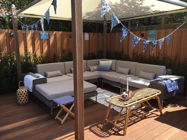 Lounge Hoekbank Tuin : Moderne loungeset tuin