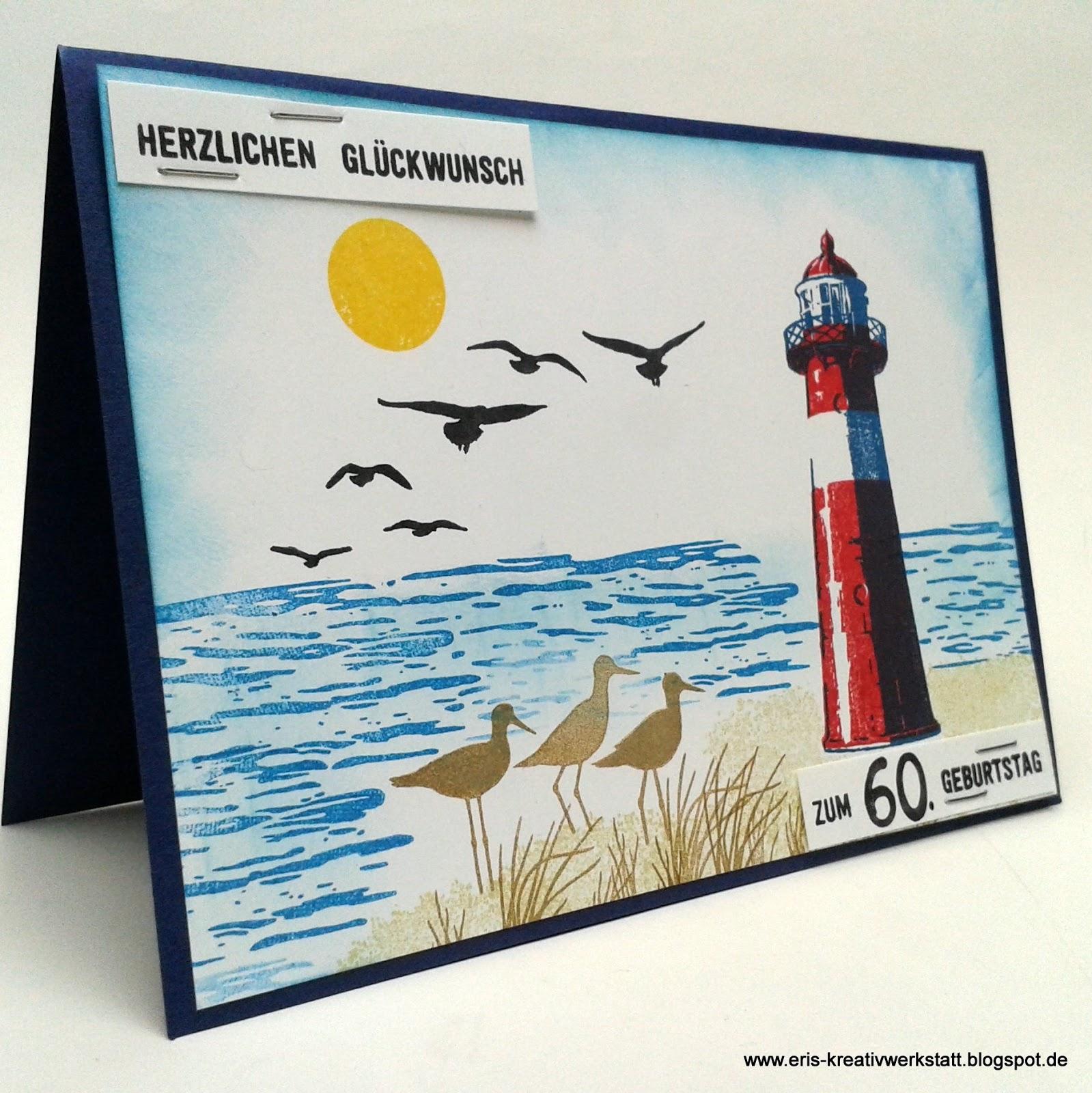 Eri 39 s kreativwerkstatt maritime karte mit leuchtturm for Leuchtturm basteln