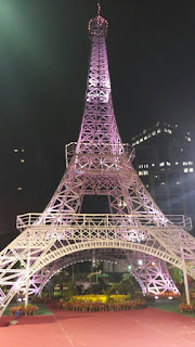 Eiffel Tower replica in Bengaluru city