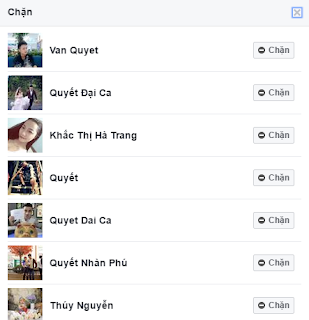 cách chặn lời mời tham gia sự kiện facebook