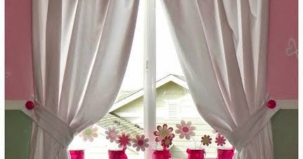 Helping Kids Grow Up How To Hang A Curtain Without Using