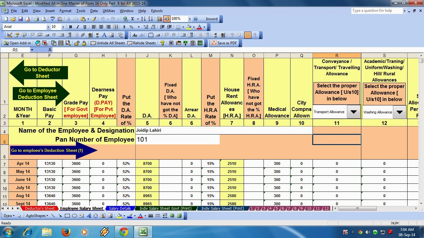 How To Make A Template On Excel