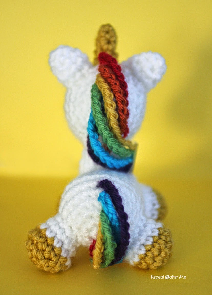 Repeat Crafter Me Crochet Unicorn Amigurumi