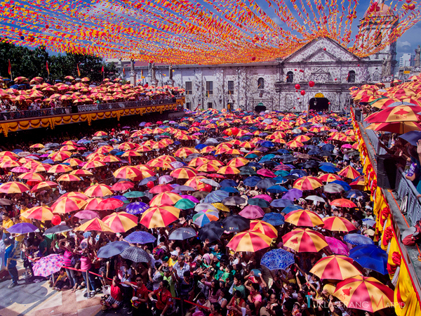 Mass held during the Sinulog Festival