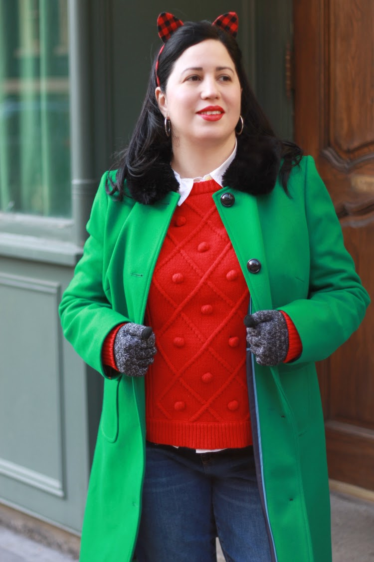 A Vintage Nerd, Boden Coats, 1960s Inspired Coats, Vintage Inspired Winter