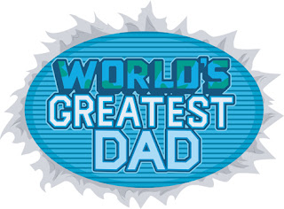 Clipart Image of a World's Greatest Day Burst