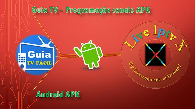 Programação canais APK