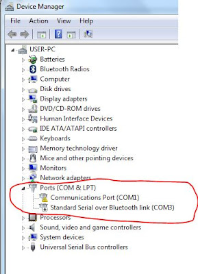 Ports(COM & LPT) ใน Windows 7