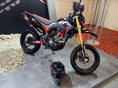 Honda CRF150L Custom Supermoto