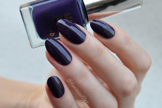 a england swatch elaine purple creme meebox nails