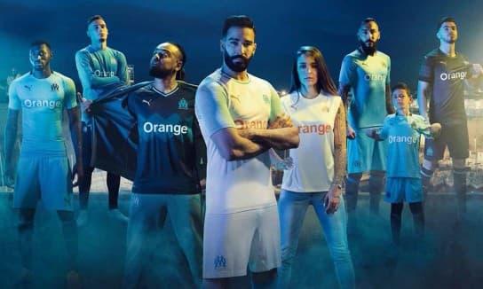 オリンピック・マルセイユ 2018-19 ユニフォーム-ホーム-アウェイ-サード