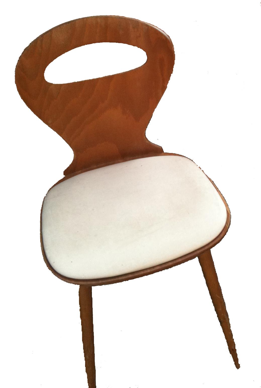 bo vintage chaise bistro fourmi de baumann assise en ska ann es 60. Black Bedroom Furniture Sets. Home Design Ideas