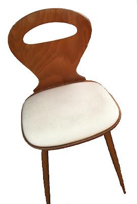 bo vintage chaise bistro fourmi de baumann assise en. Black Bedroom Furniture Sets. Home Design Ideas