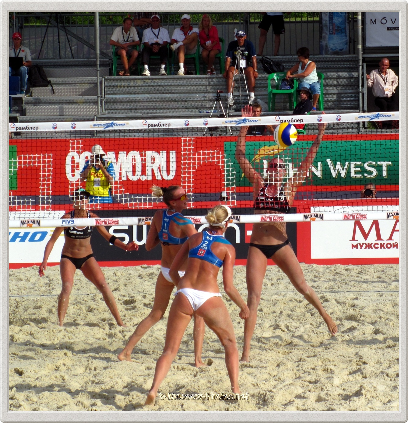 FIVB Beach Volleyball Swatch World Tour - Grand Slam Moscow 2011