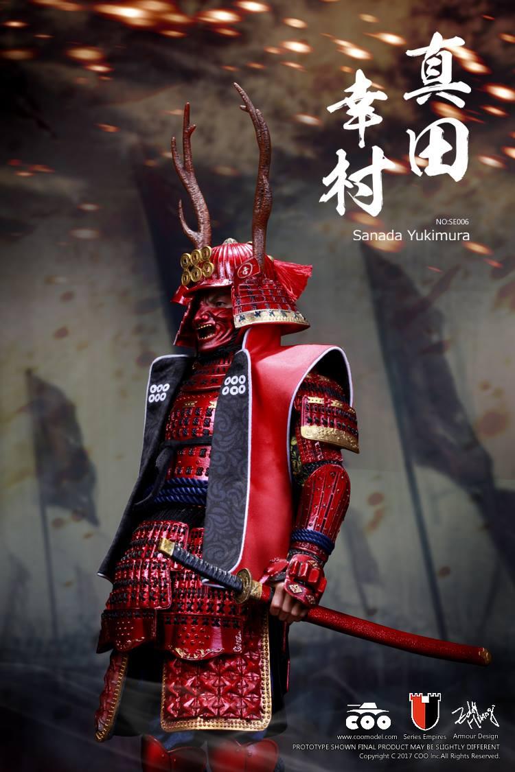 Toyhaven Coomodel 1 6th Scale Samurai Warrior Sanada Yukimura Collectible Figure Deluxe Edition