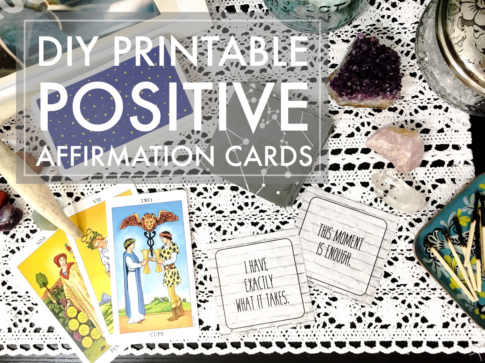 photo about Affirmation Cards Printable titled 5 sixteenths web site: Create it Monday // Printable Favourable