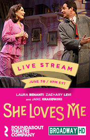 A Follow Spot She Loves Me Live From Broadway Tonight On Broadwayhd