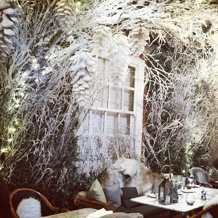 Winter Wonderland Hygge vibes at Dalloway Terrace