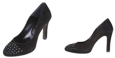 zapatos de tacon en piel de nobuk