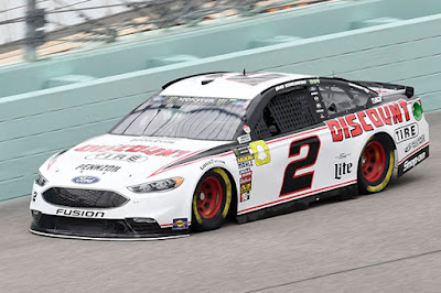 Ford Fusion Driver, Brad Keselowski finished fifth, #NASCAR #MENCS