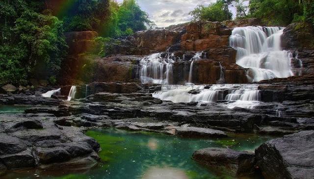 Menikmati Keindahan Air Terjun Parangloe Di Kabupaten Gowa