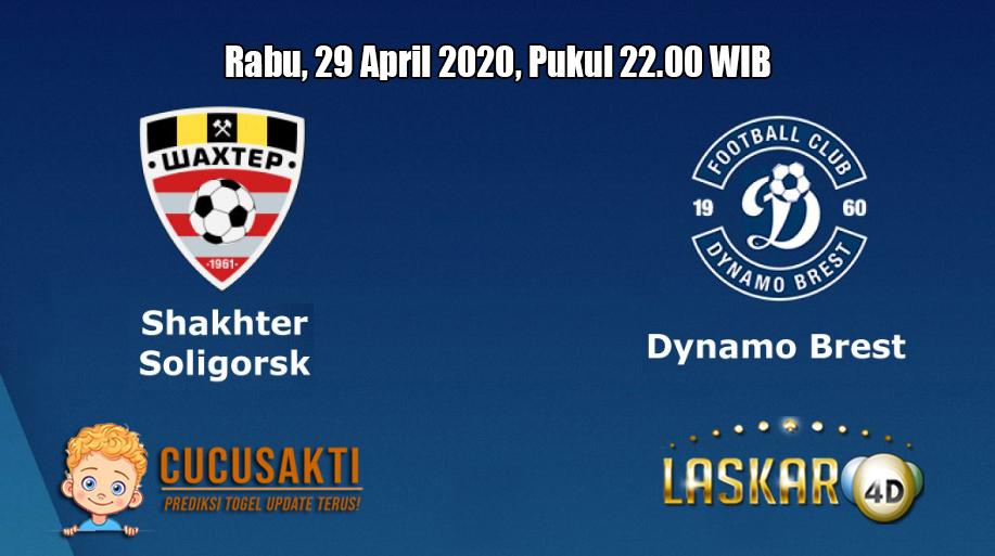 Prediksi Shakhtyor Soligorsk VS Dinamo Brest 29 April 2020