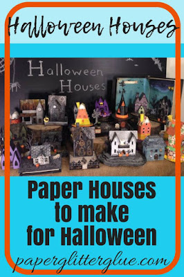 Halloween paper houses ideas and inspiration to make your own