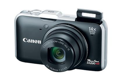 Canon PowerShot SX230 HS Driver Download Windows, Mac