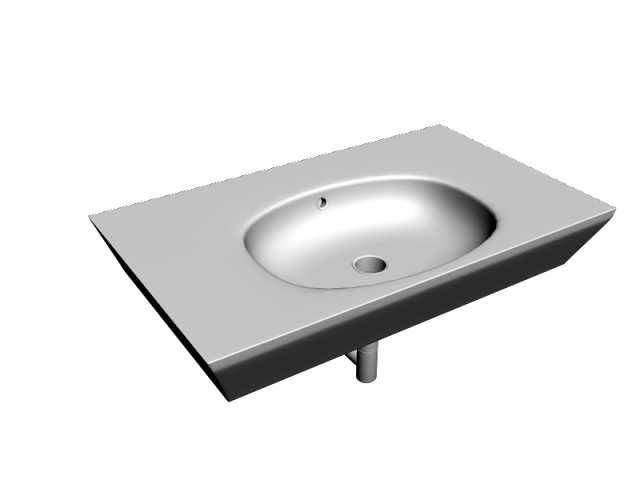3D Lavabo Model İndir