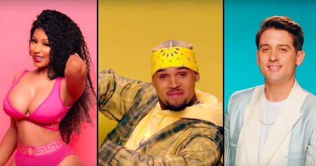 "Video: Chris Brown Feat. Nicki Minaj & G-Eazy ""Wobble Up"""