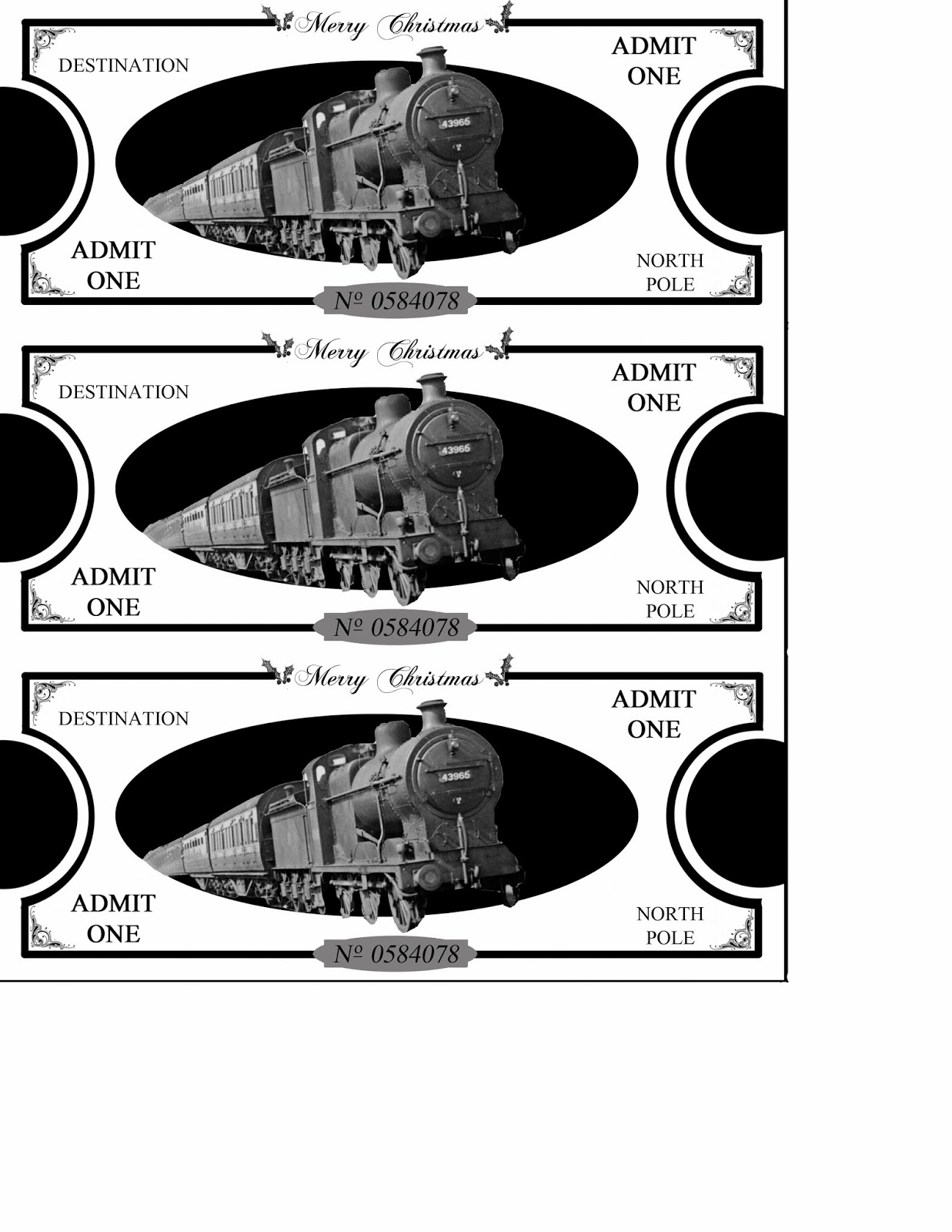 Search Results For Polar Express Printable Tickets
