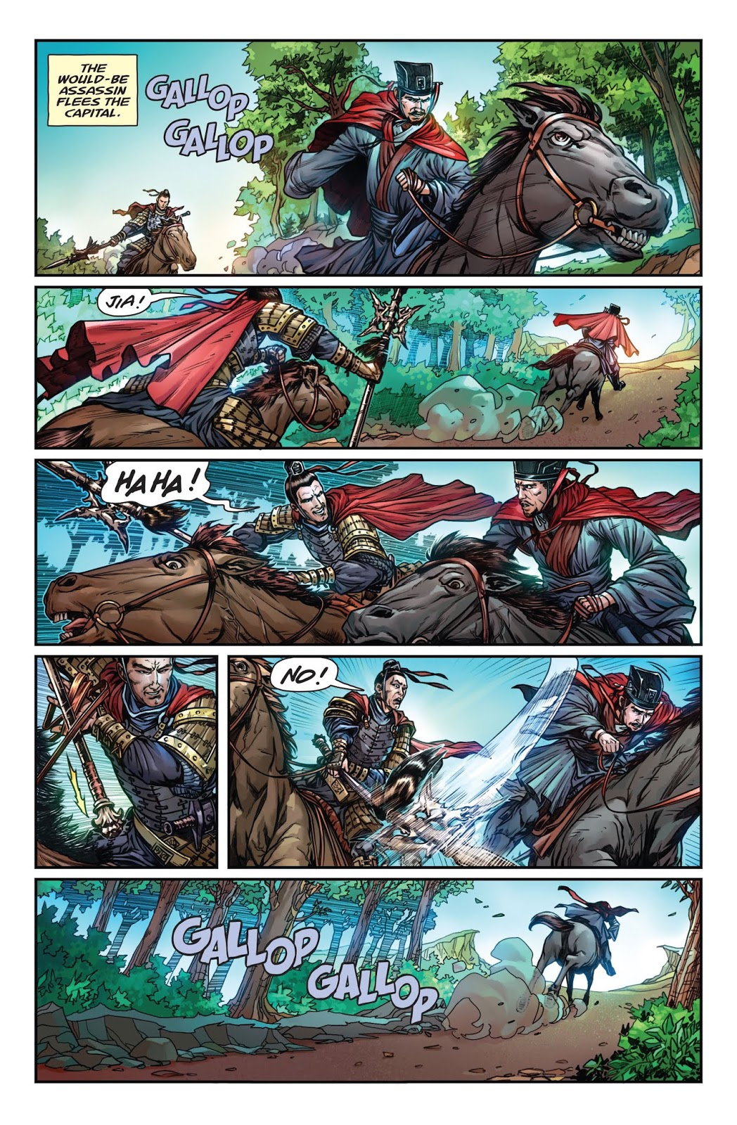 การ์ตูนสามก๊ก Total War: Three Kingdoms