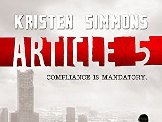 Review – Article 5 by Kristen Simmons