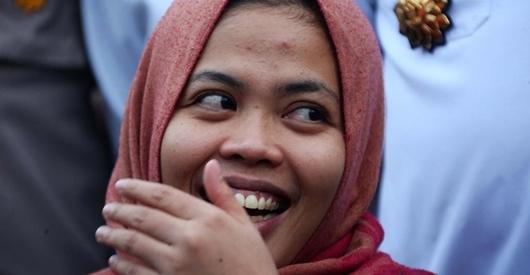 Jokowi Bebaskan Siti Aisyah, BPN Ungkit Wilfrida